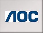 Tra le marche trattate da PR Informatica: AOC