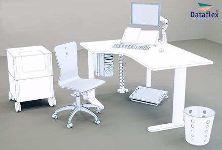 Tra i prodotti e marchi trattati da PR Informatica:Dataflex Ergonomia