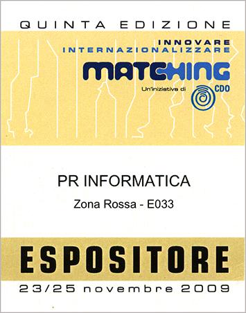 Pass Matching 2009 PR Informatica